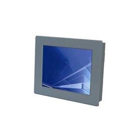 """Monitor 12"""" 4:3 da pannello ad incasso frontale, IP65, con touchscreen resistivo (su richiesta anche senza touch)"""