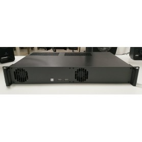 "Kimera Rack: PC Industriale rack 19"" 1,5U, CPU Celeron / Pentium / i3 / i5 / i7, Xeon, supporto 2 PCI Express"