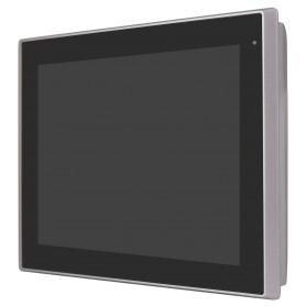 """Panel PC certificazione UL 10"""" / 12"""" / 15"""" / 17"""" / 19"""" / 21"""" IP66 frontale in alluminio, CPU I3/I5, touchscreen"""
